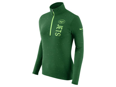 New York Jets Nike NFL Women's Element Quarter Zip Pullover