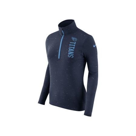 Tennessee Titans Nike NFL Women's Element Quarter Zip Pullover