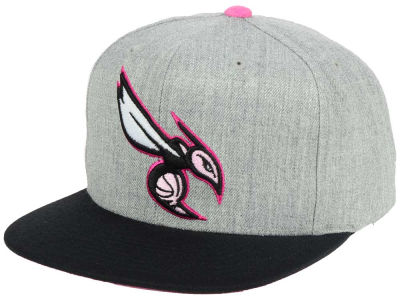 Charlotte Hornets Mitchell and Ness The Hitman Snapback Cap