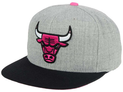 Chicago Bulls Mitchell and Ness The Hitman Snapback Cap
