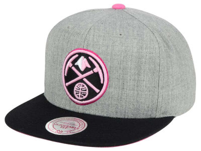 Denver Nuggets Mitchell & Ness The Hitman Snapback Cap