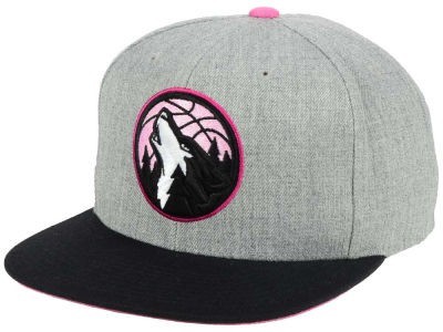 Minnesota Timberwolves Mitchell & Ness The Hitman Snapback Cap