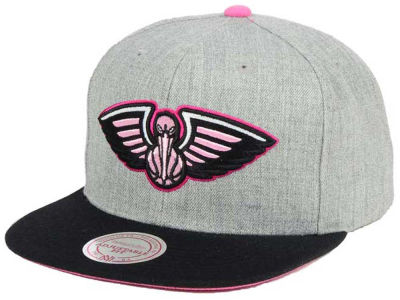 New Orleans Pelicans Mitchell and Ness The Hitman Snapback Cap