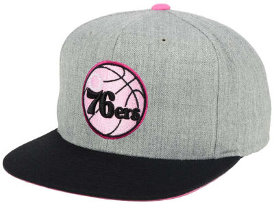 Philadelphia 76ers Mitchell and Ness The Hitman Snapback Cap