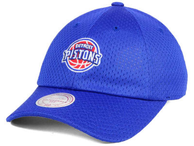 Detroit Pistons Mitchell & Ness NBA Mesh Dad Hat