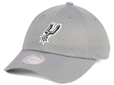 San Antonio Spurs Mitchell & Ness NBA Mesh Dad Hat