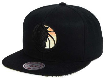 Dallas Mavericks Mitchell & Ness NBA Orange Gaze Snapback Cap