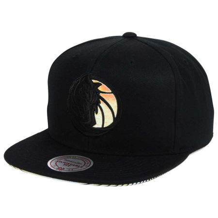 Dallas Mavericks Mitchell & Ness NBA Orange Gaze Snapback Cap