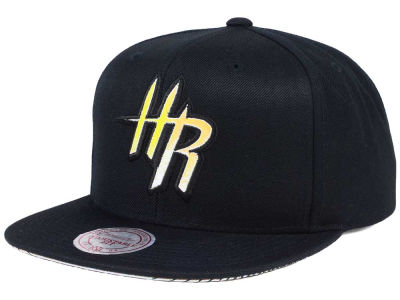 Houston Rockets Mitchell & Ness NBA Orange Gaze Snapback Cap