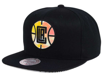 Los Angeles Clippers Mitchell & Ness NBA Orange Gaze Snapback Cap