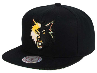 Minnesota Timberwolves Mitchell & Ness NBA Orange Gaze Snapback Cap