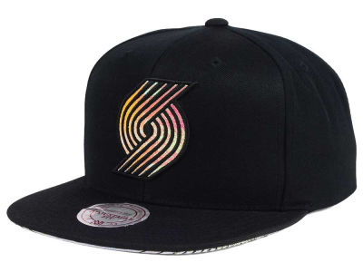 Portland Trail Blazers Mitchell & Ness NBA Orange Gaze Snapback Cap