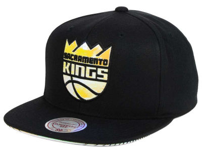 Sacramento Kings Mitchell & Ness NBA Orange Gaze Snapback Cap