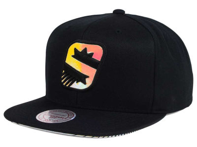 Phoenix Suns Mitchell & Ness NBA Orange Gaze Snapback Cap