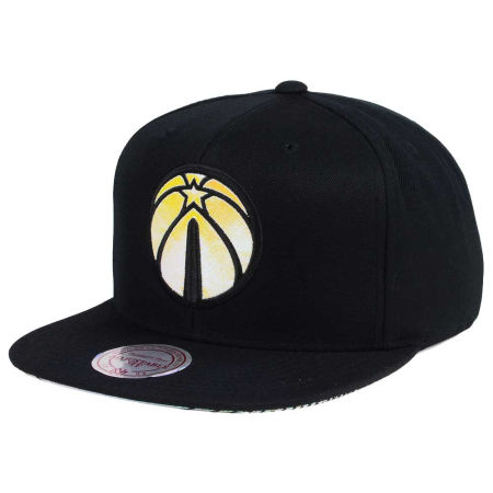 Washington Wizards Mitchell & Ness NBA Orange Gaze Snapback Cap