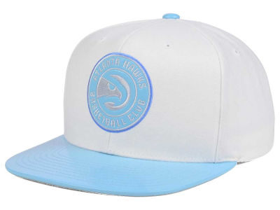 Atlanta Hawks Mitchell and Ness NBA Powder Blue 2T Snapback Cap