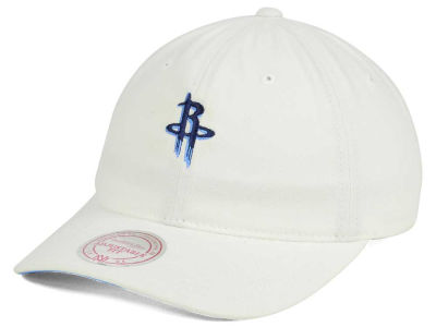 Houston Rockets Mitchell & Ness NBA Powder Blue Dad Hat Strapback