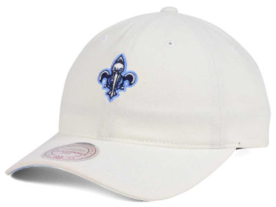 New Orleans Pelicans Mitchell & Ness NBA Powder Blue Dad Hat Strapback
