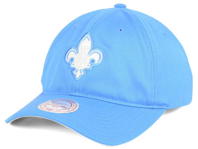 New Orleans Pelicans Mitchell & Ness NBA Powder Soft Span Dad Hat