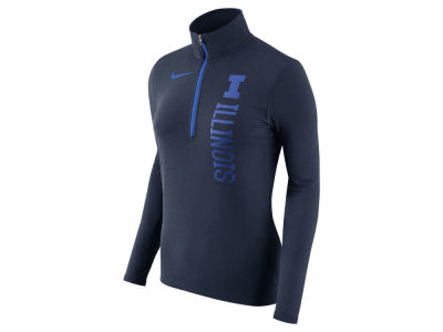 Illinois Fighting Illini Nike NCAA Women's Stadium Element Quarter Zip Pullover
