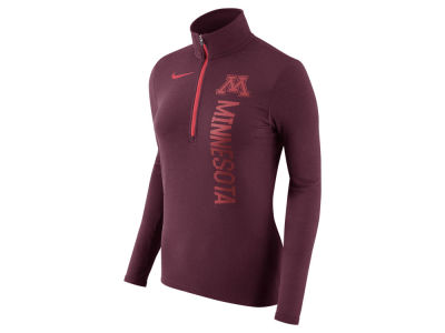 Minnesota Golden Gophers Nike NCAA Women's Stadium Element Quarter Zip Pullover