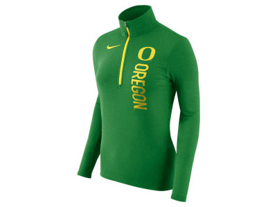 Oregon Ducks Nike NCAA Women's Stadium Element Quarter Zip Pullover