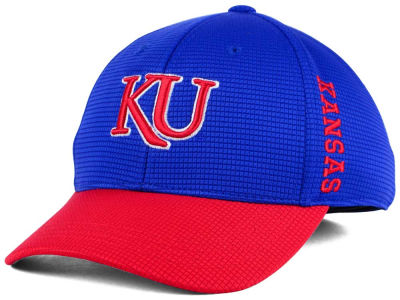 Kansas Jayhawks Top of the World Kids Booster 2-Tone Cap