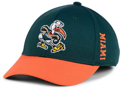 Miami Hurricanes Top of the World Kids Booster 2-Tone Cap