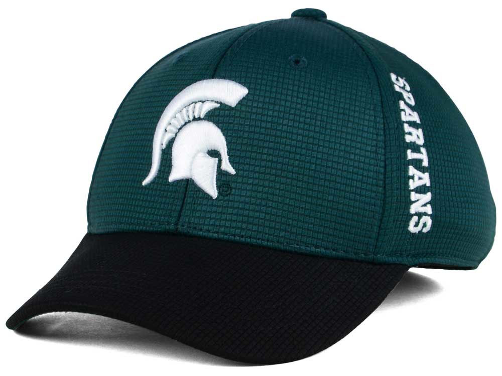 new styles 67822 2581e sweden michigan state spartans top of the world kids booster 2 tone cap  2747a 7288f