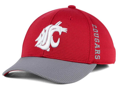 Washington State Cougars Kids Booster 2-Tone Cap