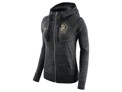 Florida State Seminoles Nike NCAA Women's Gym Vintage Full-Zip Hoodie