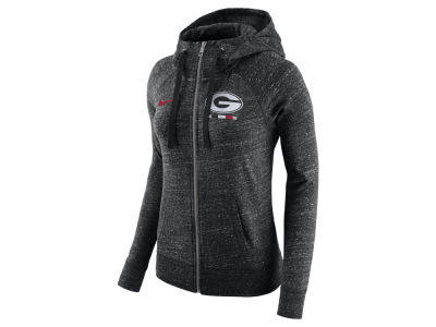 Georgia Bulldogs Nike NCAA Women's Gym Vintage Full-Zip Hoodie