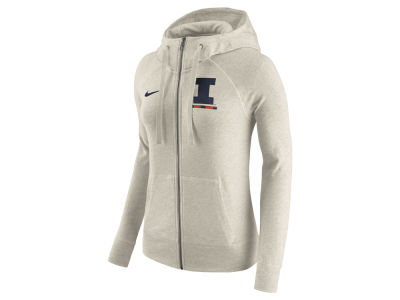 Illinois Fighting Illini Nike NCAA Women's Gym Vintage Full-Zip Hoodie