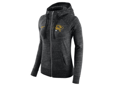 Missouri Tigers Nike NCAA Women's Gym Vintage Full-Zip Hoodie
