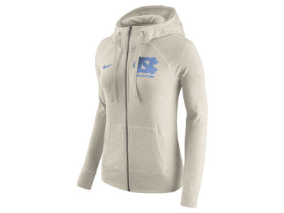 North Carolina Tar Heels Nike NCAA Women's Gym Vintage Full-Zip Hoodie