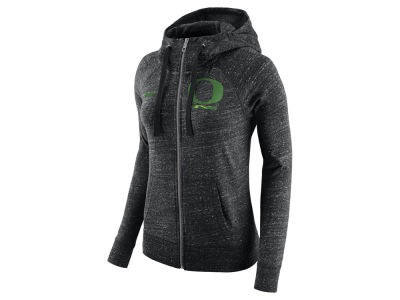 Oregon Ducks Nike NCAA Women's Gym Vintage Full-Zip Hoodie