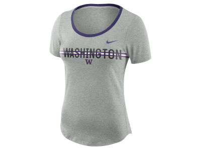 Washington Huskies Nike NCAA Women's Tri Blend Slub T-Shirt