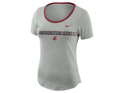 Washington State Cougars Nike NCAA Women's Tri Blend Slub T-Shirt