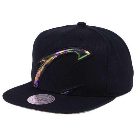 Cleveland Cavaliers Mitchell & Ness Oil Cropped Snapback Cap