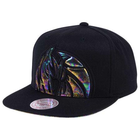 Dallas Mavericks Mitchell & Ness Oil Cropped Snapback Cap