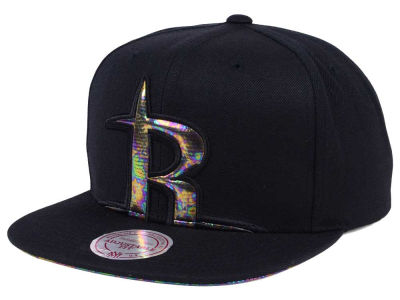 Houston Rockets Mitchell & Ness Oil Cropped Snapback Cap