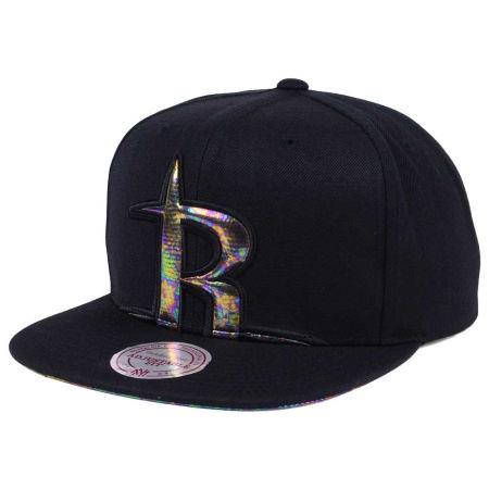 Houston Rockets Mitchell & Ness Oil Cropped Snapback Cap