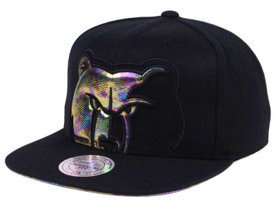 Memphis Grizzlies Mitchell & Ness Oil Cropped Snapback Cap