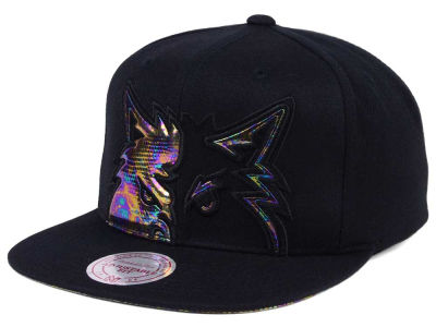 Minnesota Timberwolves Mitchell & Ness Oil Cropped Snapback Cap