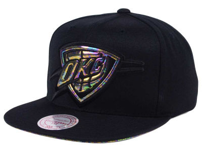 Oklahoma City Thunder Mitchell & Ness Oil Cropped Snapback Cap