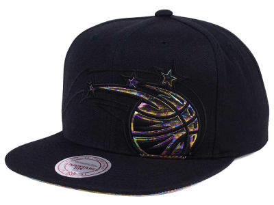 Orlando Magic Mitchell & Ness Oil Cropped Snapback Cap