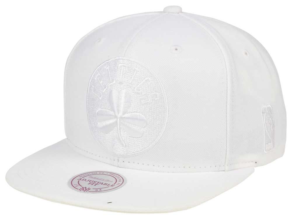 Boston Celtics Mitchell   Ness NBA Wow Snapback Cap  b09a7358a90