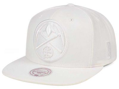 Denver Nuggets Mitchell & Ness NBA Wow Snapback Cap