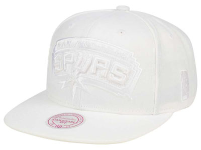 San Antonio Spurs Mitchell & Ness NBA Wow Snapback Cap