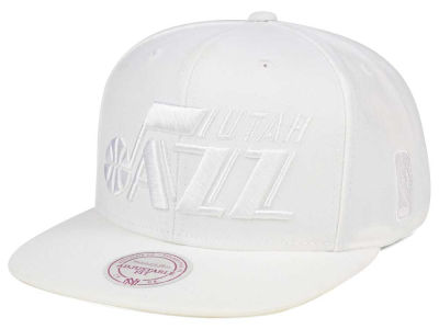 Utah Jazz Mitchell & Ness NBA Wow Snapback Cap